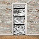 tanie Naklejki ścienne-Naklejki na drzwi - Naklejki ścienne lotnicze / Naklejki ścienne 3D Arabeska / Kształty Gabinet / Pokój do nauki / Na zewnątrz