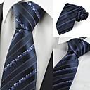 זול אביזרים לגברים-עניבת צווארון - פסים מסיבה עבודה בגדי ריקוד גברים