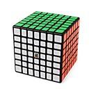 tanie Kostki Rubika-Kostka Rubika 1 szt MoYu D0908 Tęczowa kostka 7*7*7 Gładka Prędkość Cube Magiczne kostki Puzzle Cube Lśniący Moda Zabawki Unisex Dla chłopców Dla dziewczynek Prezent