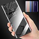 זול מגנים לטלפון & מגני מסך-מגן עבור Huawei P10 Lite P10 Plus עם מעמד מראה כיסוי מלא אחיד קשיח PC ל P10 Plus P10 Lite P10 P8 Lite (2017)