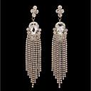 cheap Earrings-Women's Tassel Stud Earrings Hoop Earrings - Silver Plated Drop Simple, Fashion Gold For Wedding Evening Party