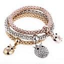 cheap Brooches-Women's Charm Bracelet / Strand Bracelet - Sweet Bracelet Rainbow For Party / Gift / 3pcs