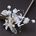 ieftine Accesorii Păr de Petrecerere-Aliaj Ornamente de Cap cu Cristal / Flori din Satin / Dantelă 1 buc Nuntă / Zi de Naștere Diadema