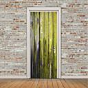 tanie Naklejki ścienne-Naklejki na drzwi - Naklejki ścienne lotnicze / Naklejki ścienne 3D Kształty / Kwiatowy / Roślinny w pomieszczeniach / Na zewnątrz