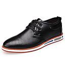 זול נעלי אוקספורד לגברים-בגדי ריקוד גברים נעליים פורמליות דמוי עור אביב / סתיו נוחות נעלי אוקספורד הליכה שחור / צהוב / אדום