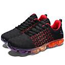 זול נעלי ספורט לגברים-בגדי ריקוד גברים טול קיץ / סתיו נוחות נעלי אתלטיקה ריצה לבן / אפור / שחור אדום