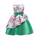 זול שמלות לבנות-שמלה כותנה פוליאסטר אביב קיץ ללא שרוולים Party ליציאה פרחוני טלאים הילדה של חמוד תלתן