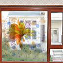 ieftine Film & Acțibild De Geam-Fereastră de film și autocolante Decor Floral Contemporan Floral PVC Autocolant Geam Mat