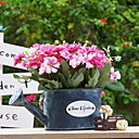 tanie Sztuczny kwiat-Sztuczne Kwiaty 1 Gałąź Styl pasterski Chryzantema Bukiety na stół