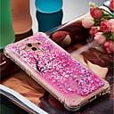 זול מגנים לטלפון & מגני מסך-מגן עבור Huawei Mate 10 pro / Mate 10 lite עמיד בזעזועים / נוזל זורם / תבנית כיסוי אחורי פרח רך TPU ל Mate 10 pro / Mate 10 lite