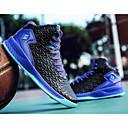 זול נעלי ספורט לגברים-בגדי ריקוד גברים PU סתיו נוחות נעלי אתלטיקה כדורסל שחור לבן / שחור אדום / שחור / כחול