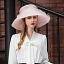 billige Hodeplagg til fest-organza Kentucky Derby Hat / Hatter med Sløyfe 1pc Bryllup / Fest / aften Hodeplagg