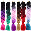 cheap Hair Braids-Braiding Hair Afro / Crochet Jumbo 100% kanekalon hair / Kanekalon 2pcs / pack Hair Braids Long Ombre Braiding Hair