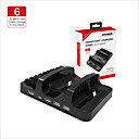 cheap Nintendo Switch Accessories-DOBE Charger / Stand / USB Hub For Nintendo Switch ,  New Design / Portable Charger / Stand / USB Hub ABS 1 pcs unit
