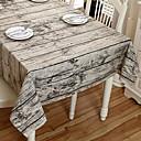 tanie Obrusy-Współczesny PVC / Bawełna Kwadrat Obrus Geometryczny Dekoracje stołowe 2 pcs