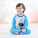 ieftine Pantaloni Băieți-Copil Băieți Imprimeu Manșon Lung Set Îmbrăcăminte