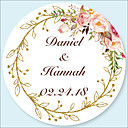 cheap Practical Favors-Floral / Botanicals Stickers, Labels & Tags - 48pcs Circular Stickers / Envelope Sticker All Seasons