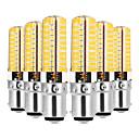 cheap Wall Sconces-YWXLIGHT® 6pcs 7W 600-700lm BA15D LED Bi-pin Lights T 80 LED Beads SMD 5730 Dimmable Warm White / Cold White 220-240V / 110-130V