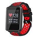 cheap Smartwatches-Smartwatch STF8 for Android iOS Bluetooth Waterproof Heart Rate Monitor Blood Pressure Measurement Touch Screen Long Standby Pedometer Call Reminder Sleep Tracker Find My Device / Alarm Clock