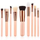 preiswerte Make-up-Pinsel-Sets-9pcs Makeup Bürsten Professional Bürsten-Satz- Umweltfreundlich / Weich Holz / Bambus