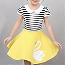 preiswerte Kleider für Mädchen-Baby Mädchen Grundlegend Solide Kurzarm Kleid