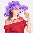 זול כפפות למסיבות-כובע שמש - אחיד פפיון בסיסי / חג בגדי ריקוד נשים / בד / קיץ