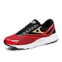 זול סניקרס לגברים-בגדי ריקוד גברים טול קיץ נוחות נעלי אתלטיקה ריצה קולור בלוק שחור / אדום / שחור לבן