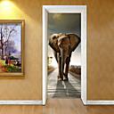 abordables Adhesivos de Pared-Calcomanías Decorativas de Pared - Calcomanías 3D para Pared Animales / Formas Sala de estar / Habitación de estudio / Oficina