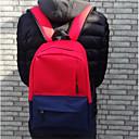 זול Elementary Backpacks-בגדי ריקוד נשים שקיות ניילון תיק לבית הספר רוכסן אודם / סגול / צהוב