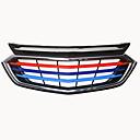 billige Spotlys med LED-5pcs Bil Car Front Grille Decoration Forretning Lim inn til Bilgrill Til Chevrolet Equinox 2018 / 2017