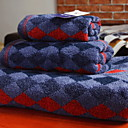cheap Bath Towel Set-Superior Quality Bath Towel Set, Geometric Poly / Cotton 3 pcs