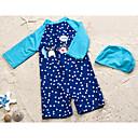 ieftine Pantaloni Băieți-Copil Băieți Plajă Mată / Buline Costum Baie