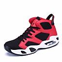 זול נעלי ספורט לגברים-יוניסקס טול סתיו נוחות נעלי אתלטיקה כדורסל שחור / אדום / שחור לבן