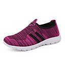 זול מוקסינים לנשים-בגדי ריקוד נשים נעליים סריגה קיץ נוחות נעליים ללא שרוכים שטוח אפור / סגול / פוקסיה