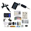 cheap Temporary Tattoos-Tattoo Machine Starter Kit - 2 pcs Tattoo Machines with 7 x 15 ml tattoo inks, Professional, Kits LED power supply Case Not Included 2 rotary machine liner & shader