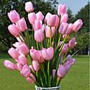 billige Eksterne batterier-Kunstige blomster 1 Gren Fest / aften Tulipaner Gulvblomst