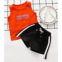 povoljno Vanjska odjeća za Za dječake bebe-Dijete Dječaci Aktivan Print Print Bez rukávů Pamuk Komplet odjeće / Dijete koje je tek prohodalo