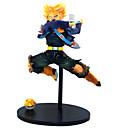 abordables Adhesivos de Pared-Las figuras de acción del anime Inspirado por Bola de Dragón Son Goku CLORURO DE POLIVINILO 21 cm CM Juegos de construcción muñeca de juguete