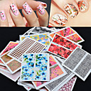 cheap Nail Stickers-50 pcs Stickers nail art Manicure Pedicure Stickers Nail Decals