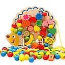 ieftine Jucării pentru Citit-Jucărie Citit Familie Interacțiunea părinte-copil Model nou De lemn Copilului Cadou 1pcs