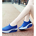 cheap Women's Sneakers-Women's Shoes Tulle Spring & Summer Comfort Athletic Shoes Tennis Shoes / Walking Shoes Wedge Heel Gray / Pink / Royal Blue