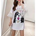 ieftine Cercei la Modă-tricou pentru femei - colț solid / colorat pentru animale