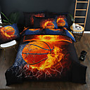 cheap 3D Duvet Covers-Duvet Cover Sets 3D Poly / Cotton Reactive Print Other