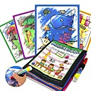 cheap Drawing Toys-Drawing Tablet Magic Water Drawing Book Creative Child's Gift 1pcs