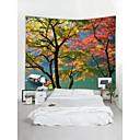 זול שטיחי קיר-נושאי גן נוף קיר תפאורה פּוֹלִיאֶסטֶר עכשווי מסורתי וול ארט, קיר שטיחי קיר תַפאוּרָה