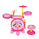 baratos Instrumentos de Brinquedo-Bateria Mini Adorável Unisexo Para Meninos Para Meninas Brinquedos Dom 2 pcs