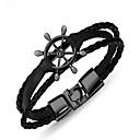 cheap Men's Bracelets-Geometric Bangles - Vintage Bracelet Silver / Brown / Cool White For Gift / Daily