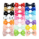 cheap TV Boxes-Hair Accessories Grosgrain Wigs Accessories Girls' 20pcs pcs 1-4inch cm Party / Daily Stylish Cute
