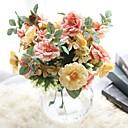 abordables Flores Artificiales-Flores Artificiales 1 Rama Estilo Simple / Ramos de Flores para Boda Rosas / Flores eternas Flor de Mesa