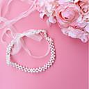 ieftine Panglici de Nuntă-organza Nuntă / Party / Seara Cercevea Cu Imitație de Perle Pentru femei Panglici